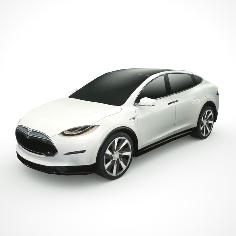 2013 tesla x model