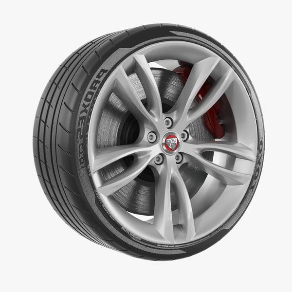 3D wheel design realistic