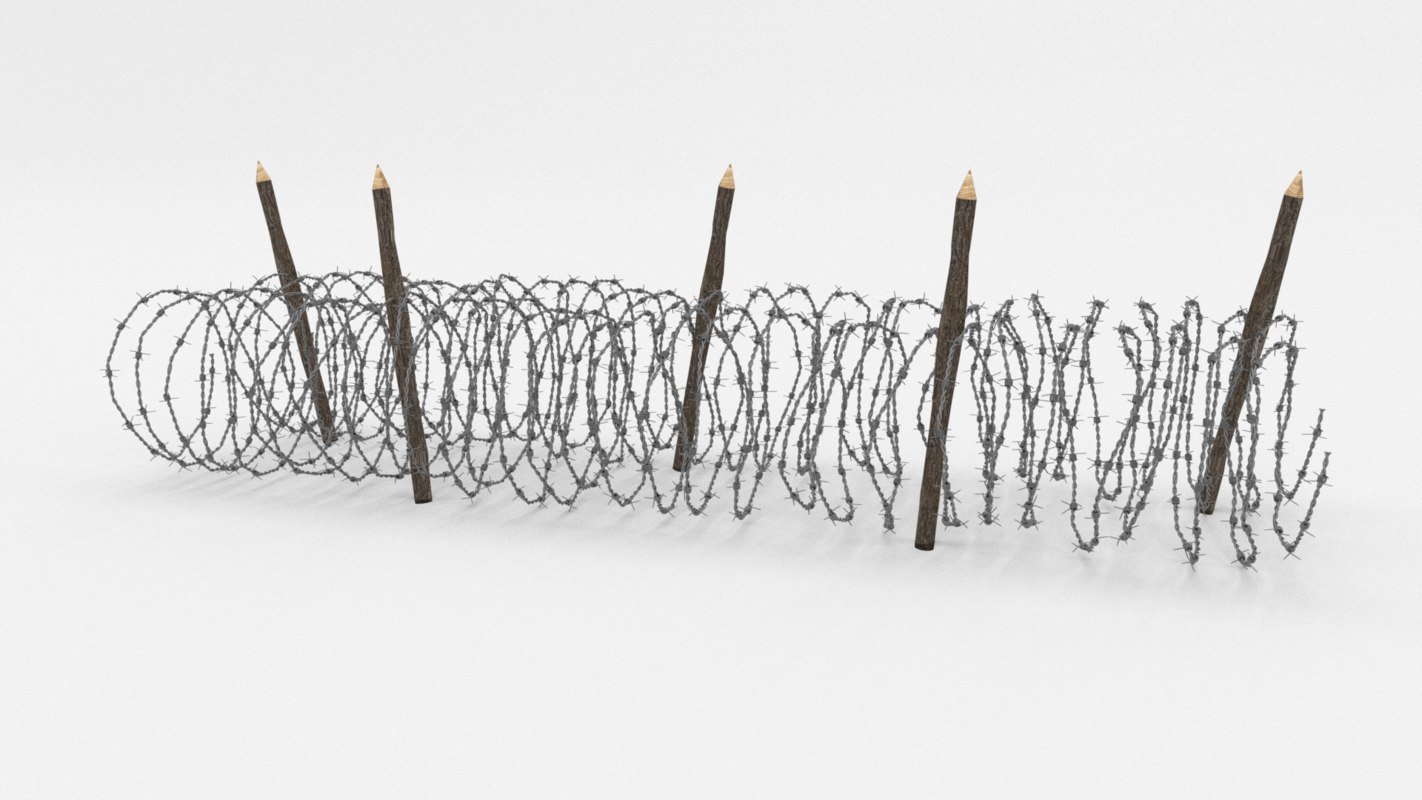 Beautiful Triple Strand Concertina Wire Obstacle Mold - Electrical ...