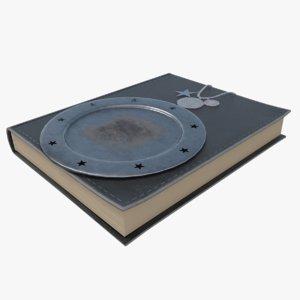 3D model spell book