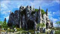 landscape fantasy 3D