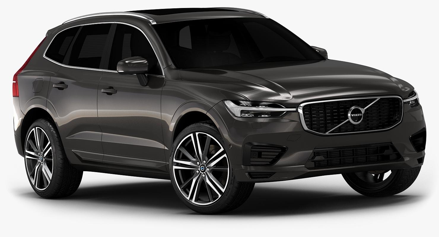 модель Volvo Xc60 2018 низкий