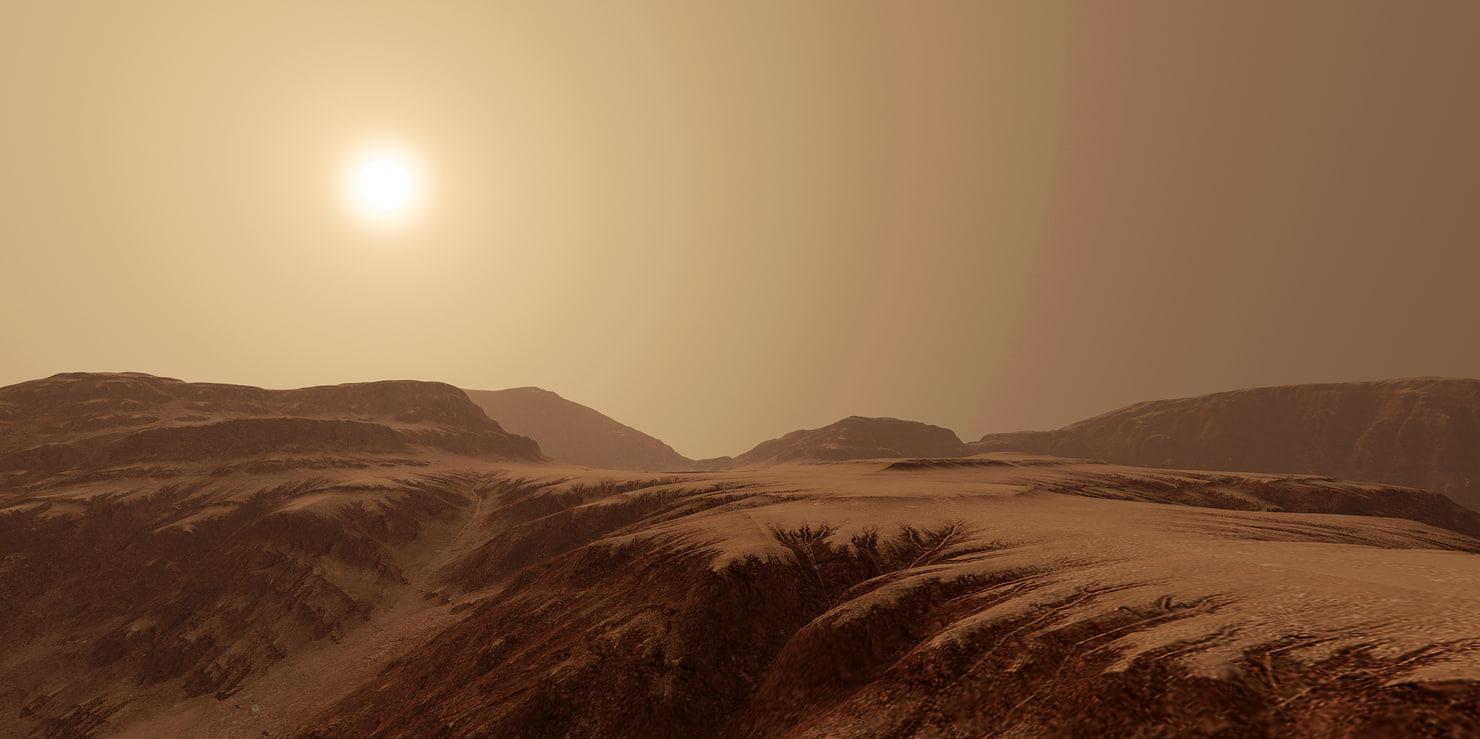 3D terrain canyon