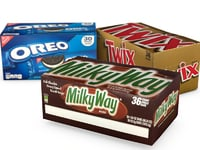 3D candy box pack twix