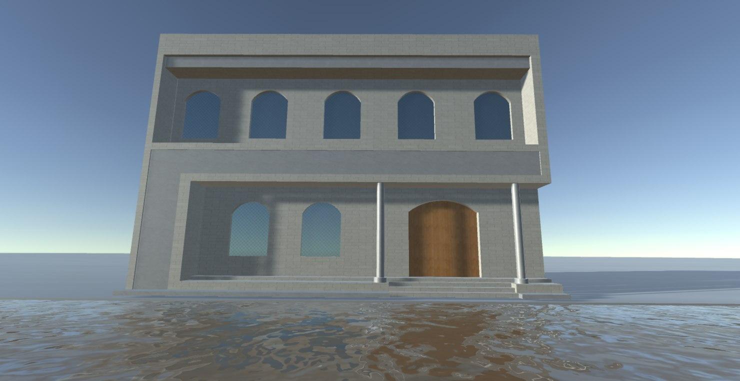 3D simple building