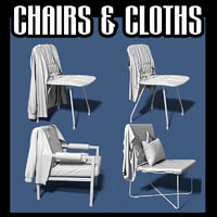 Chairs and clothes