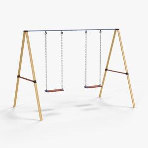 3D swing set