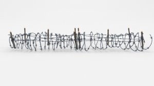 barbed wire obstacle 3D