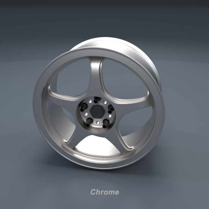 5zigen rim 3D model