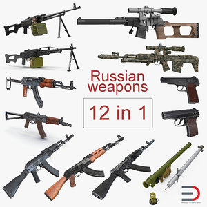 russian weapons model
