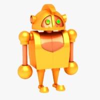 3D model s toy robot