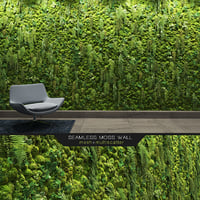 seamless moss wall 3D model