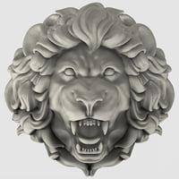 3D lion model