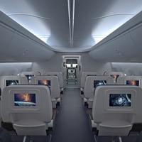 boeing 737 interior 3D model