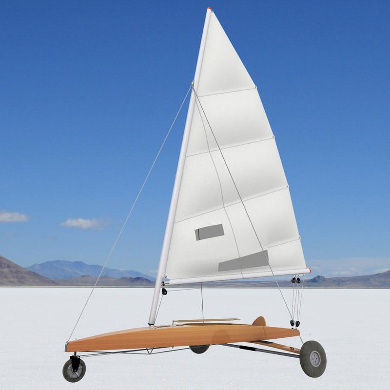 sand yacht 3D