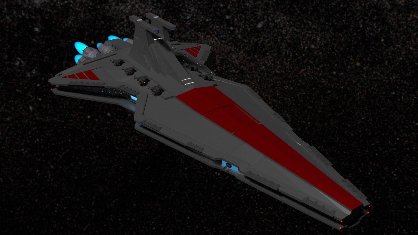 venator 3D model