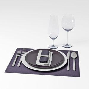 tableware model