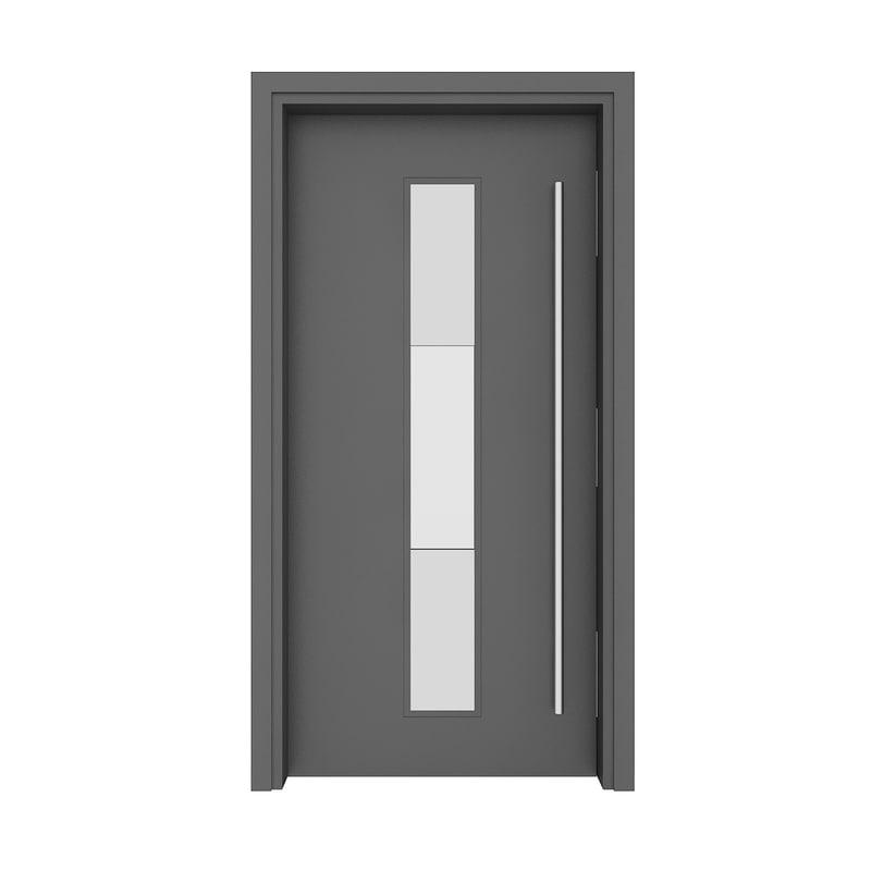 3D metal door