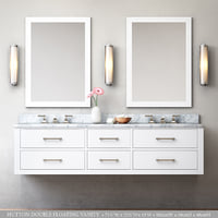 hutton double floating vanity 3D