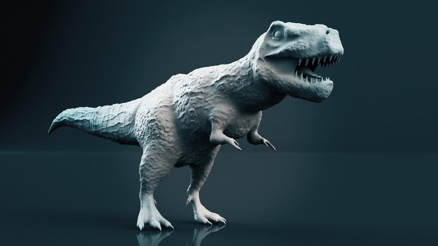 dinosaur t rex 3D model