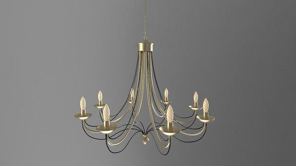 3D model lustre light