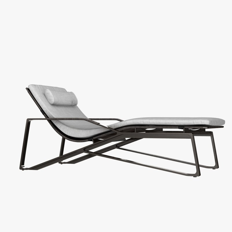 moray chaise 3D model