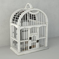 3D decorative cage mirror zara model