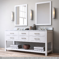 3D hutton double washstand