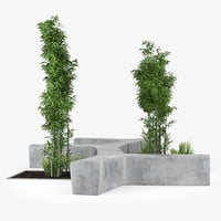 twig street 3D model