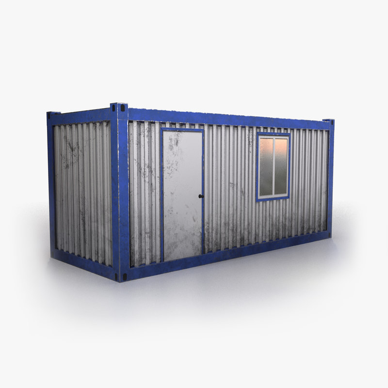construction site office container model