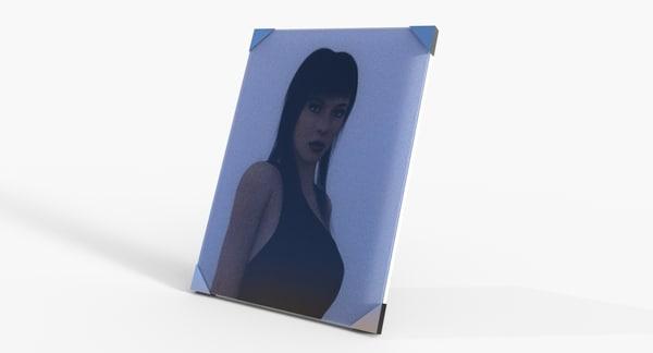 portrait 3D model