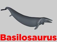 3D basilosaurus base model