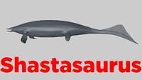 3D shastasaurus