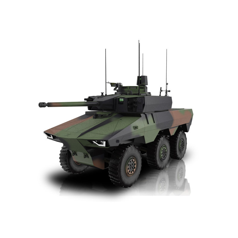 3D ebrc jagua model