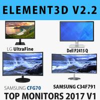 3D monitors - e3d