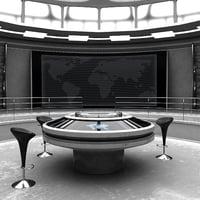 Futuristic Control Room