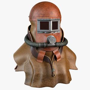 3D antique smoke rescue mask