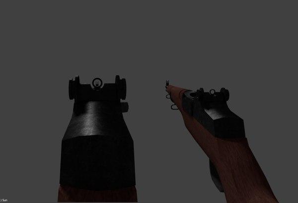 m1 garand ww2 rifle model