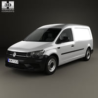 3D model volkswagen caddy maxi