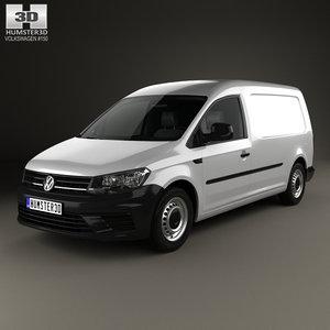 3D model volkswagen caddy maxi