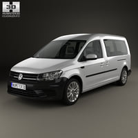 volkswagen caddy maxi 3D