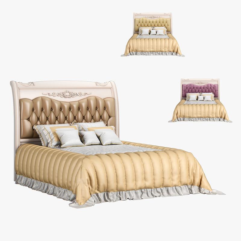 230 carpenter bed plan 3D model