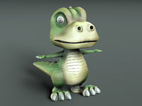 dinosaur cartoon 3D