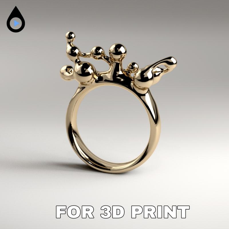 3D ring print