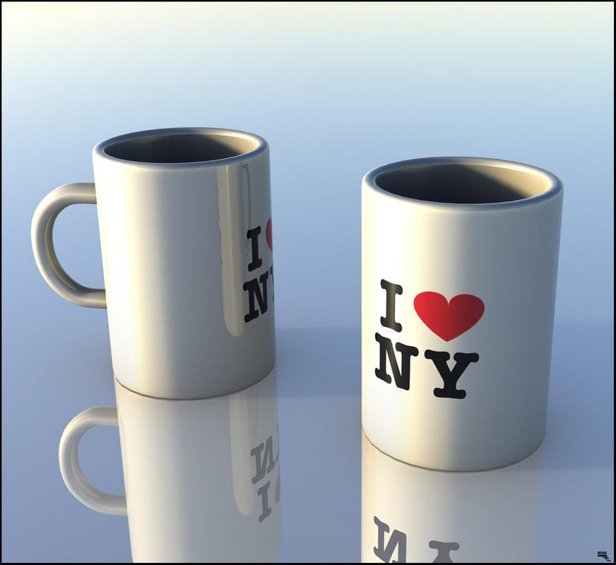 mug coffe coffee 3D model