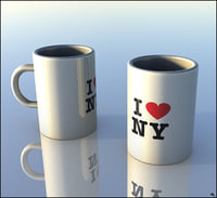 mug coffe coffee 3D model