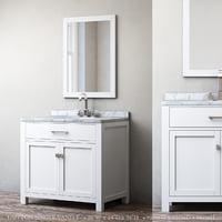 3D hutton single vanity model
