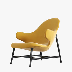 3D model catch lounge chair