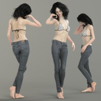 3D photorealistic clothing