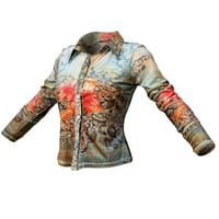 Top Flower Romantic Decoration Women Clothing